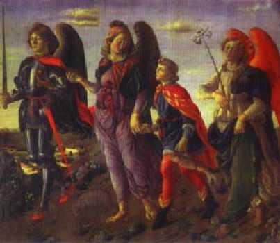 El santo de hoy...Miguel, Gabriel y Rafael, Arcángeles  SanMiguelSanRafaelSanGabriel